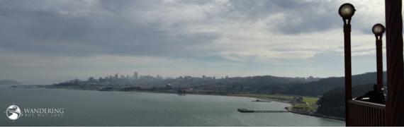 Matt Emerson WBNL SF from the Golden Gate Bridge